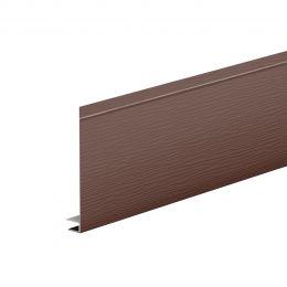J-фаска 150 AQUASYSTEM L=2 м St PE 0,45мм (Zn140) RAL 8017 - коричневый шоколад