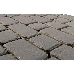 Плитка тротуарная BRAER Ривьера серый, 132*60 мм