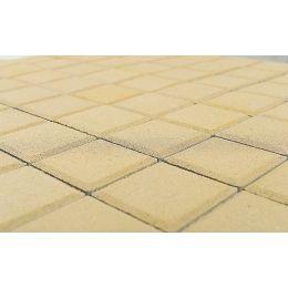 Плитка тротуарная BRAER Лувр песочный, 200*200*60 мм