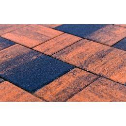 Плитка тротуарная BRAER Старый город Ландхаус Color Mix Техас, 80/160/240*160*60 мм