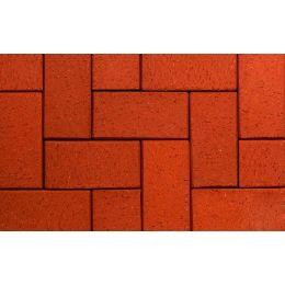 Тротуарная клинкерная брусчатка ABC Rot-nuanciert, 200x100x45 мм