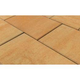 Плитка тротуарная BRAER Триада Color Mix Сахара, 300/450/600*60 мм