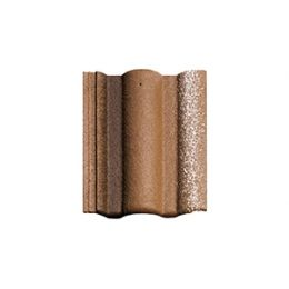 Цементно-песчаная черепица рядовая BRAAS Адриа коричневая