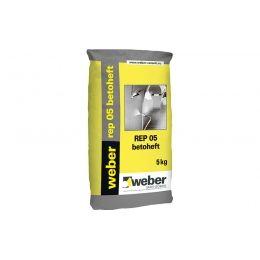 Цементный раствор weber.vetonit REР 05, серый, 5 кг