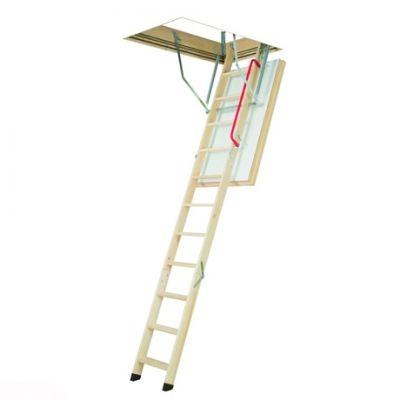 Деревянная суперэнергосберегающая чердачная лестница FAKRO LWT Thermo 60*120*280 см