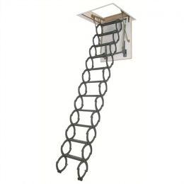 Металлическая термоизоляционная чердачная лестница FAKRO LST 60*120*280 см