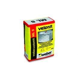 Кладочный раствор weber.vetonit ML 5 25 кг