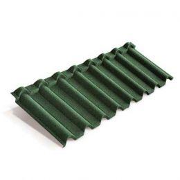 Композитная черепица METROTILE Gallo зеленый, 1315*418 мм