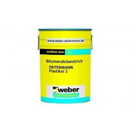 Битумная мастика weber.tec 905 черный, 10 кг
