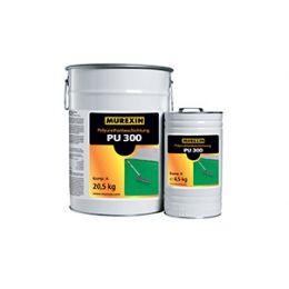 Полиуретановое финишное покрытие MUREXIN Hires PU 300 голубой RAL 5012, 25 кг