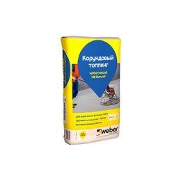 Корундовый топпинг weber.vetonit HB Korund, серый, 25 кг