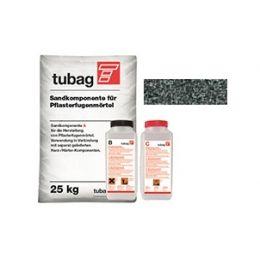 Раствор для заполнения швов брусчатки quick-mix Tubag PFL базальт, 25 кг