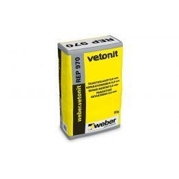 Шпаклевка цементная weber.vetonit REР 970 серый, 20 кг