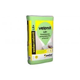 Шпаклевка финишная weber.vetonit LR+, белая, 25 кг