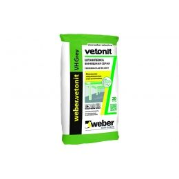 Финишная шпаклевка weber.vetonit VH grey, 20 кг