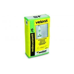 Шпаклевка финишная weber.vetonit JS, белая, 20 кг