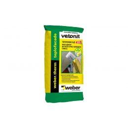 Армировочно-клеевая смесь для теплоизоляции weber.therm teplofacade, 25 кг