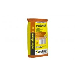 Армировочно-клеевая смесь для теплоизоляции weber.therm S100, 25 кг