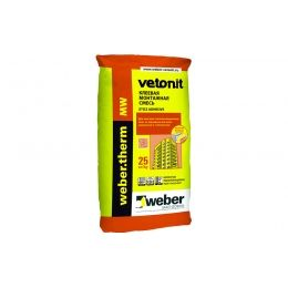 Армировочно-клеевая смесь для теплоизоляции weber.therm MW, 25 кг