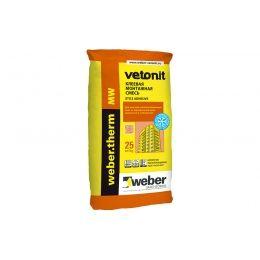 Армировочно-клеевая смесь для теплоизоляции weber.therm MW winter, 25 кг