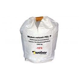 Бетон для заделки вертикальных швов weber.vetonit PSL P зимний, 1000 кг