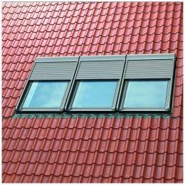 Комплект из 3 окладов EWK MR06 0002+ EWK 0021 для горизонтальной комбинированной установки окон VELUX OPTIMA, 780*1180 мм