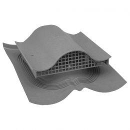 Вентиль VILPE DECRA KTV, RR 23 – серый графит