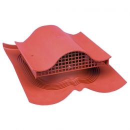 Вентиль VILPE DECRA KTV, RR 29 – красный