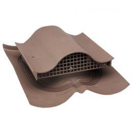 Вентиль VILPE DECRA KTV, RR 32 – темно-коричневый